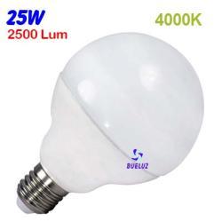 GLOBO LED 25W 120mm E-27 4000ºK