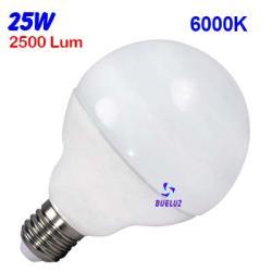 GLOBO LED 25W 120mm E-27 6000ºK