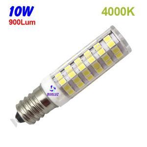 TUBULAR LED E-14 10W 4000ºK