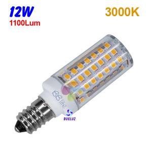 TUBULAR LED E-14 12W 3000ºK