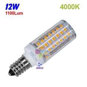 TUBULAR LED E-14 12W 4000ºK