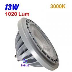 ES-111 LED 13W GU-10 3000ºK 48º