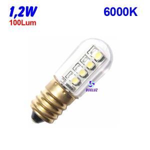 TUBULAR LED E-14 1,2W 6000K