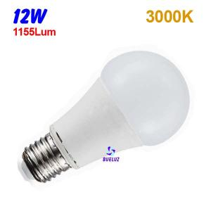 Standar LED E-27 12W Mate 3000ºK