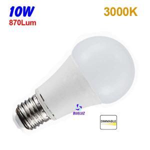 Standar LED E-27 10W Mate Regulable 3000ºK