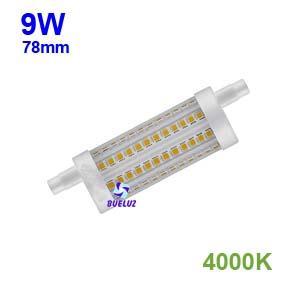 Lampara Lineal LED 78mm 9W 4000K apertura 360º