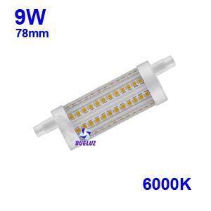 Lampara Lineal LED 78mm 9W 6000K apertura 360º