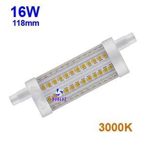 Lampara Lineal LED 118mm 16W 3000K apertura 360º
