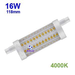 Lampara Lineal LED 118mm 16W 4000K apertura 360º