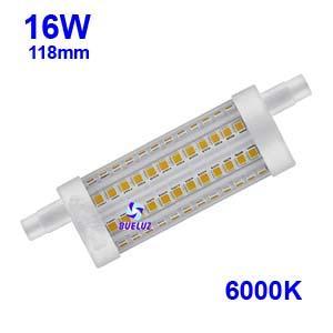 Lampara Lineal LED 118mm 16W 6000K apertura 360º