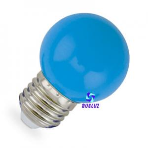 ESFERICA LED 1W E-27 AZUL
