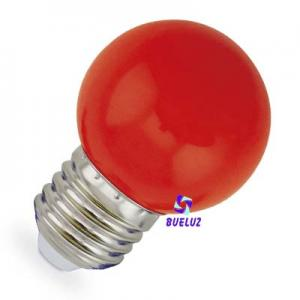 ESFERICA LED 1W E-27 ROJO