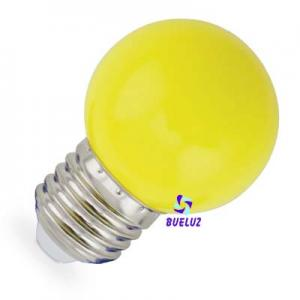 ESFERICA LED 1W E-27 AMARILLO