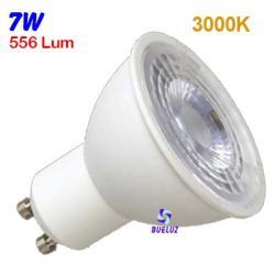 Dicroica LED GU-10 8W 2700K 50º Apertura -
