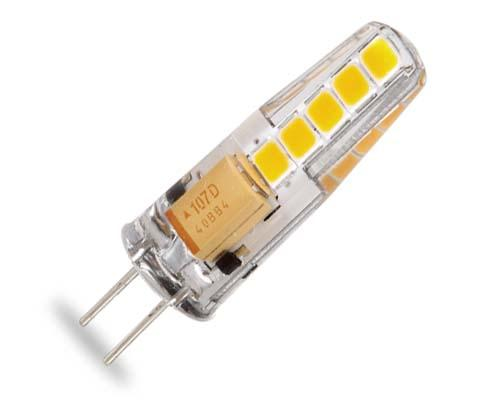2-PIN LED G-4 2,5W 12V 3000ºK