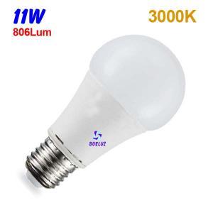 Standar LED E-27 11W Mate 3000ºK
