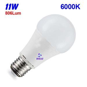 Standar LED E-27 11W Mate 6000ºK