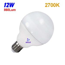 Globo LED 12W 90mm E-27 3000ºK