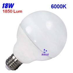 GLOBO LED 12W 120mm E-27 4000ºK