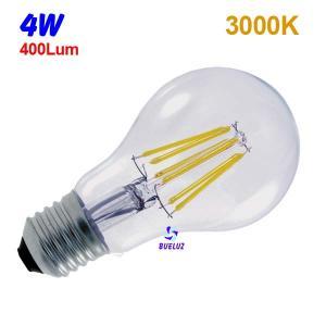 Standar LED E-27 4W Transparente
