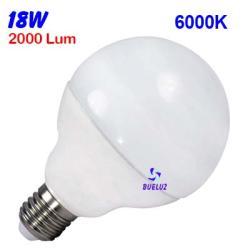 GLOBO LED 18W 120mm E-27 6000ºk