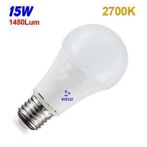 Standar LED E-27 15W Mate 2700ºK