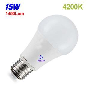 Standar LED E-27 15W Mate 4200ºK