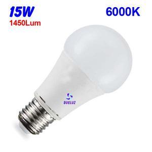 Standar LED E-27 15W Mate 6000ºK