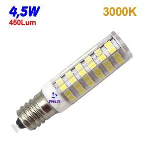 TUBULAR LED E-14 4,5W 3000ºK
