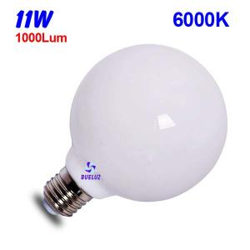 GLOBO LED 11W E-27 6000ºK CRISTAL