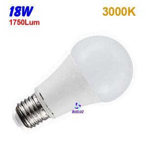 Standar LED E-27 18W Mate 3000ºK
