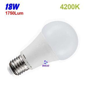 Standar LED E-27 18W Mate 4200ºK