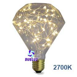 Lampara LED decorativa Diamond 2W 2700K  -