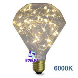 Lampara LED decorativa Diamond 2W 6000K  -