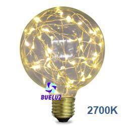 Lampara LED decorativa 125mm 2W 2700k  -