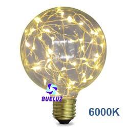 Lampara LED decorativa 125mm 2W 6000k  -