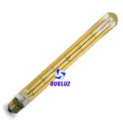 Lampara Tubular LED E-27 Vintage 8W 2500K  -