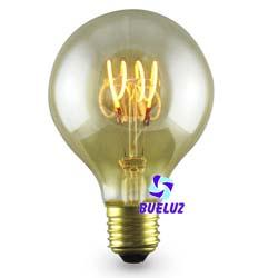 Globo LED decorativo 80mm E-27 4W 2000K  -