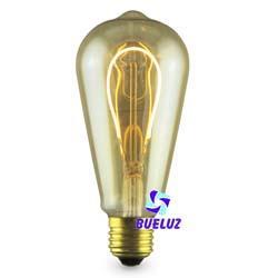 Lampara LED tipo Pera E-27 4W 2000K