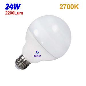 GLOBO LED 24W 120mm E-27 2700ºK