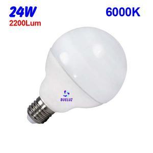GLOBO LED 24W 120mm E-27 6000ºK