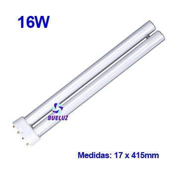 Lampara PL LED 16W 2G11 4200ºK -