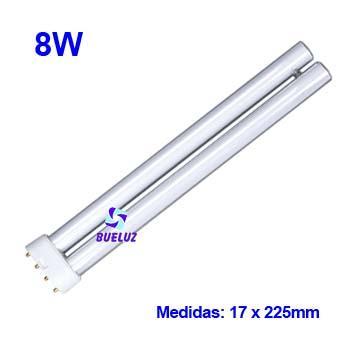 Lampara PL LED 8W 2G11 4200ºK