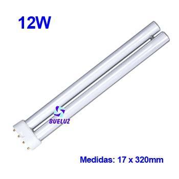 Lampara PL LED 12W 2G11 4200ºK