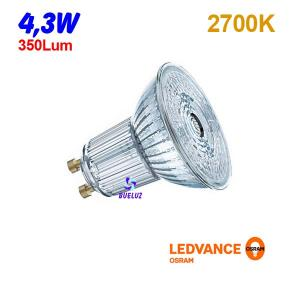 DICROICA LED GU-10 4,3W 2700K 36º