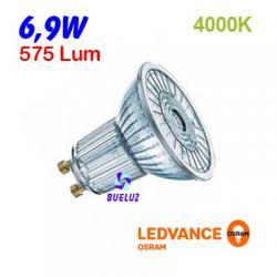 DICROICA LED GU-10 6,9W 4000K 36º
