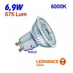 DICROICA LED GU-10 6,9W 6500K 36º