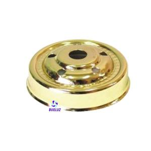 Portatulipas Oro brillo 65mm