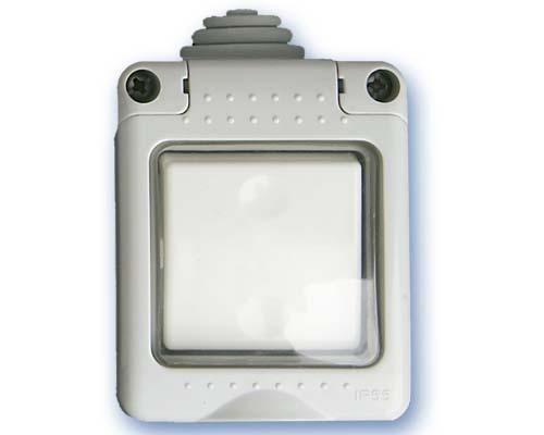 Interruptor Estanco IP55 Tapa Silicona -