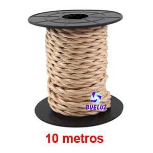 Cable Trenzado 2 x 0,75 Cobre 10 metros